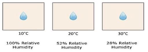 Più muffa con stessa umidità assoluta, perchè?