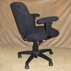 Padded Office Chair Fishing Full Accessory Kit Black Current