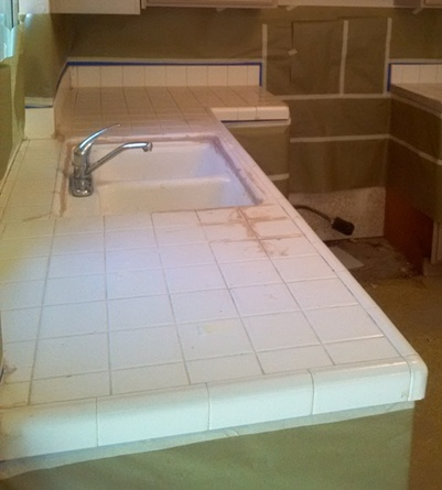 kitchen countertop resurfacing chairs for tile refinishing | fort collins, co