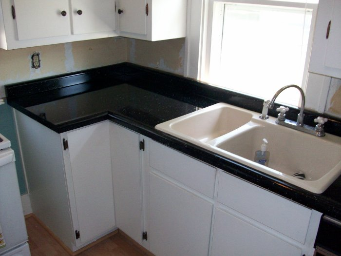 how to replace kitchen countertops aid parts countertop refinishing & porcelain reglazing in spencer ...