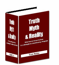 "Image result for ""Truth, Myth & Reality: What Can and Cannot be Done in a Strength & Conditioning Program""."