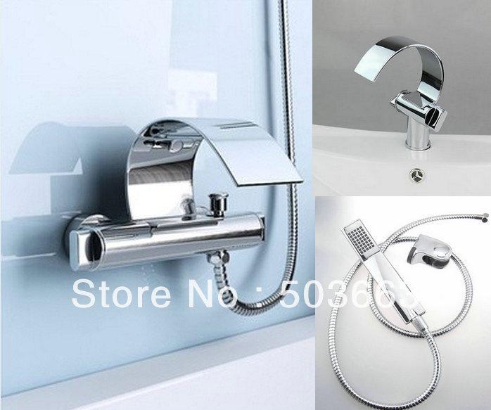 Bathroom Faucets Sets shower faucet set. shower faucet round sleek chrome shower faucet