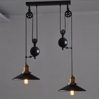 kitchen rise fall lights kitchen pulley lights retro style ...