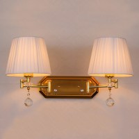 adjustable double arm wall sconce dimmer switch wall light