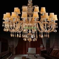 crystal chandelier luxury led chandeliers vintage gold ...