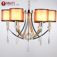 new modern iron crystal chandelier for home ceiling ...
