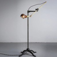 retro vintage floor lamp copper+iron vintage american