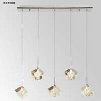 contemporary crystal pendant lighting fixtures bar modern ...