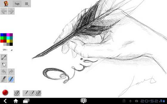 Disegnare Prendere Appunti Tablet Android App Disegno