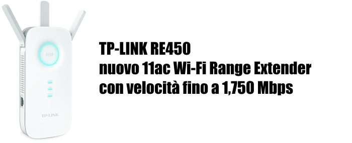 TP-LINK RE450 ripetitore segnale router Wi-Fi per