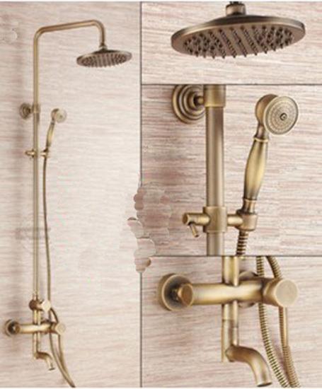 Antique Brass Shower  Decorative Kitchen Cabinet Hardware