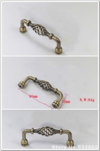 Spiral Antique Birdcage Furniture Hardware Handles Kitchen ...