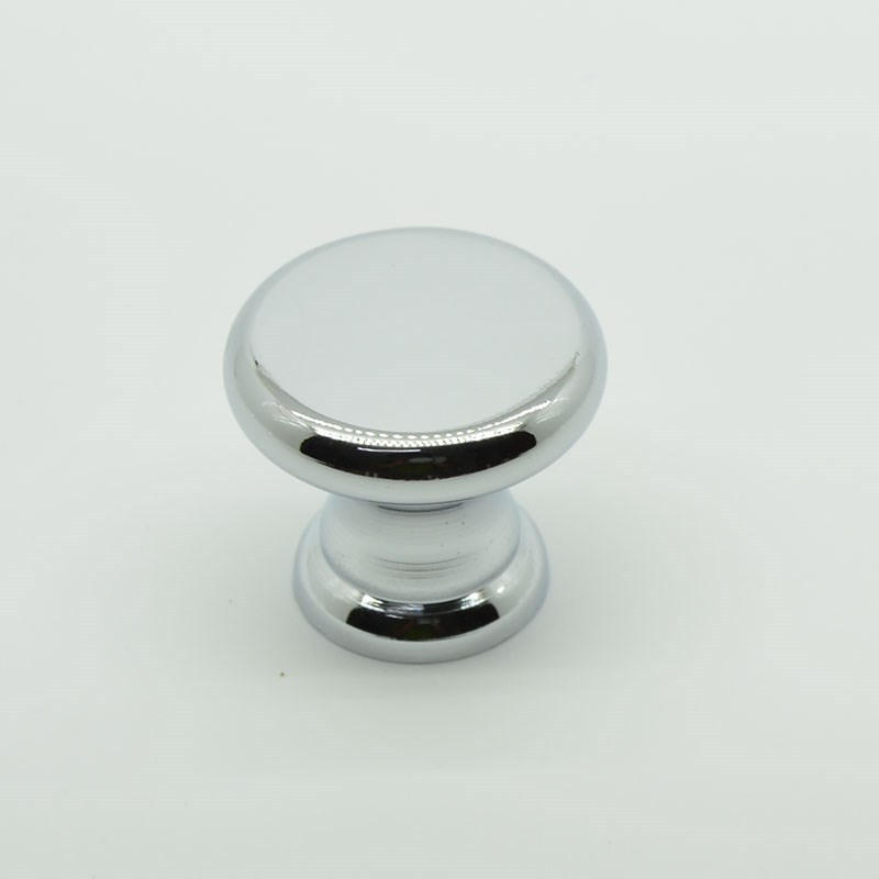 cheap round zinc alloy single hole cabinet knobs and