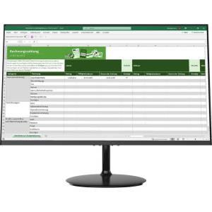 Denver MLE-2401 LED-monitor 59.9 cm (23.6 inch) Energielabel F (A - G) 1920 x 1080 Pixel 5 ms HDMI, VGA, Hoofdtelefoon (3.5 mm jackplug) VA LED