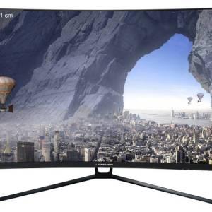 LC Power LC-M32-QHD-144-C Gaming monitor 80 cm (31.5 inch) Energielabel B (A++ - E) 2560 x 1440 pix QHD 4 ms HDMI, DVI, DisplayPort VA LCD