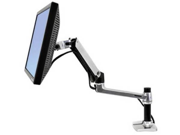 Ergotron LX Desk Monitor Arm Monitor-tafelbeugel 1-voudig 25,4 cm (10) - 81,3 cm (32) In hoogte verstelbaar, Kantelbaar, Zwenkbaar, Roteerbaar