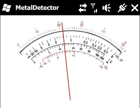 Metal Detector App for iPhone and Windows Mobile