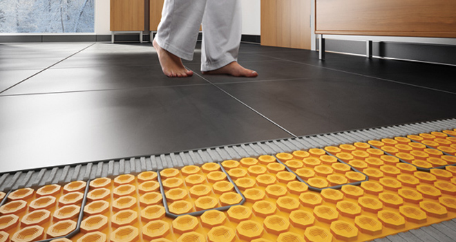 Thermonet Underfloor Heating Mats Thermostat Electrical Preparation
