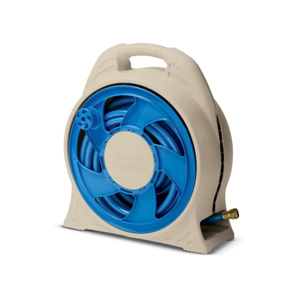Ames 2370100 Cassette Hose Reel With 65-feet 1 2- Blue