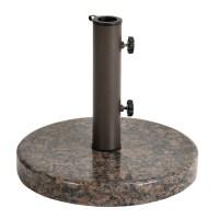 Astonica Coffee Round Granite Patio Umbrella Stand Base | eBay