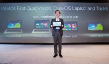 ASUS cans dual Android Windows 8 Tablet