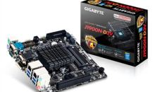 Gigabyte launches first fanless quad-core Bay Trail motherboard