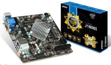 MSI Releases J1800I Bay Trail-Based Mini-ITX Motherboard