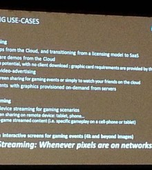 GDC14: AMD RapidFire and Cloud Gaming