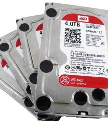 Western Digital Red 4TB HDD RAID Report