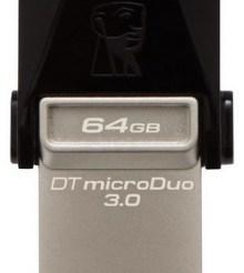 Kingston DataTraveler microDuo 3.0 OTG 64GB USB Flash Drive Review