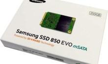 Samsung SSD 850 EVO mSATA Review