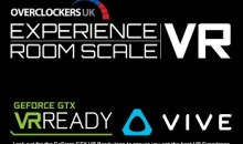 Overclockers UK introduce Room Scale VR in association with Vive