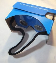 Review of QPAU Virtual Reality 3D Glasses Google Cardboard DIY Kit