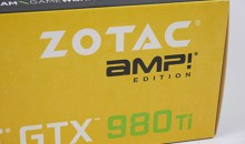 Zotac GTX 980 Ti AMP! Edition Graphics Card Review
