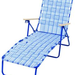Webbed Chaise Lounge Chairs Gas Fire Pit With Adirondack Aubuchon Hardware Lounger Web By405 10161 Rio Bands Chair Blue