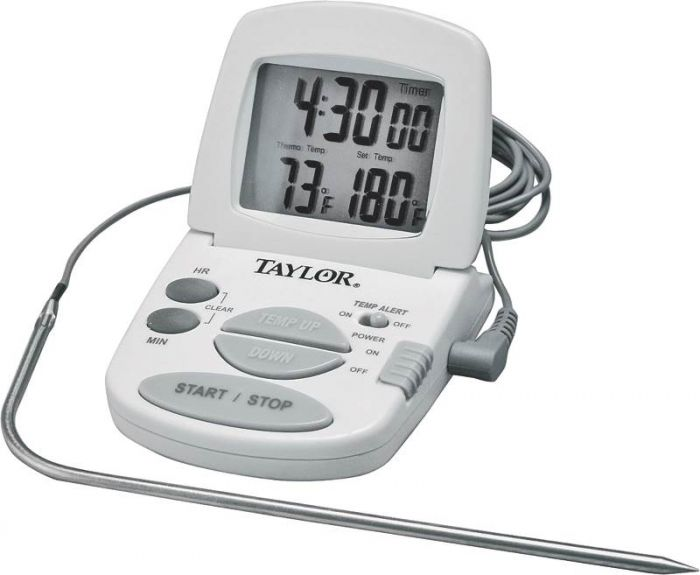 taylor kitchen timer table light fixtures aubuchon hardware thermometers precision digital with meat probe