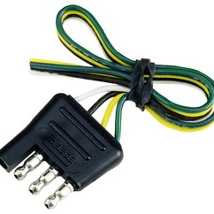 Reese Trailer Light Wiring Diagram Three Way Switch Buy The Bulldog Towing 74124 Flat End 4