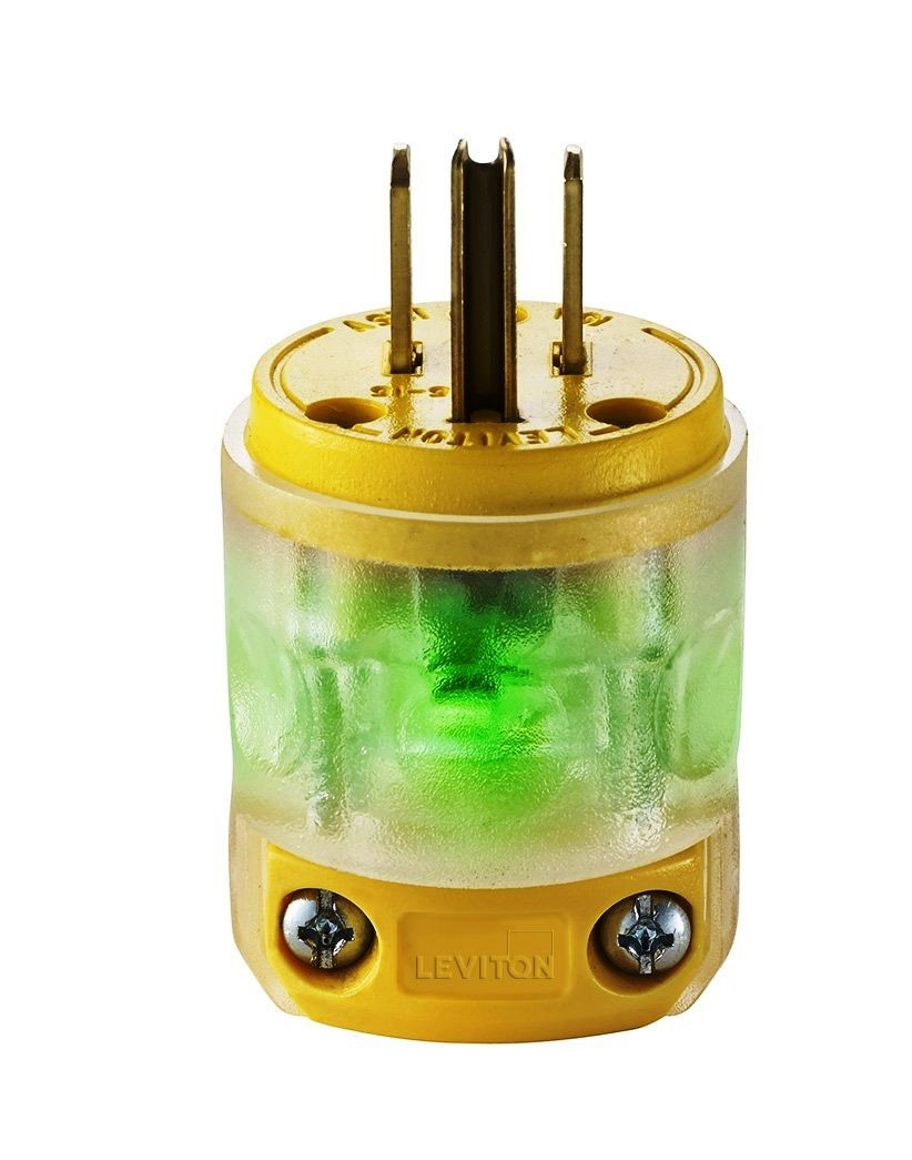 hight resolution of lighted 15 amp plug view larger image
