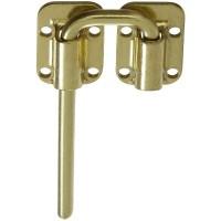 Buy the National 238980 Barn Door Sliding Latch, Brass - 1 ...