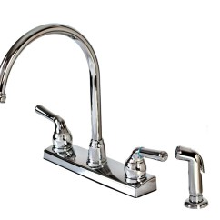 Kitchen Faucets With Sprayer Tile Murals Buy The Hardware House 8236gntp Faucet W
