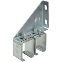 National Mfg 104752 Double Box Rail Splice Bracket, Dp 51 ...