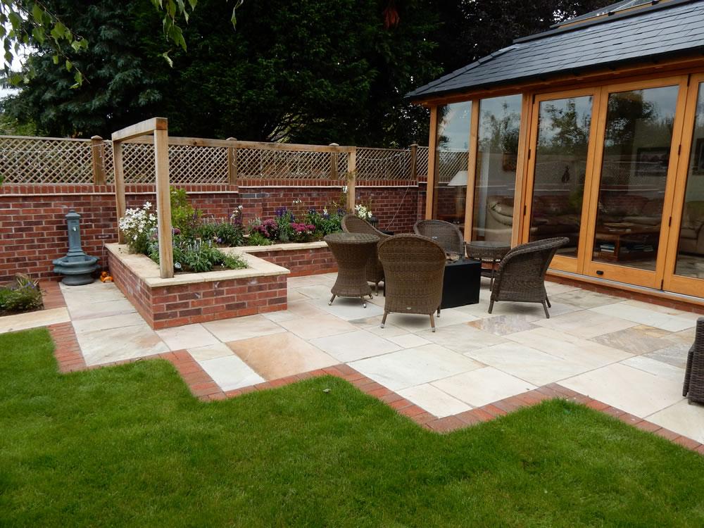 Evening Entertaining Garden Design  Garden Designer