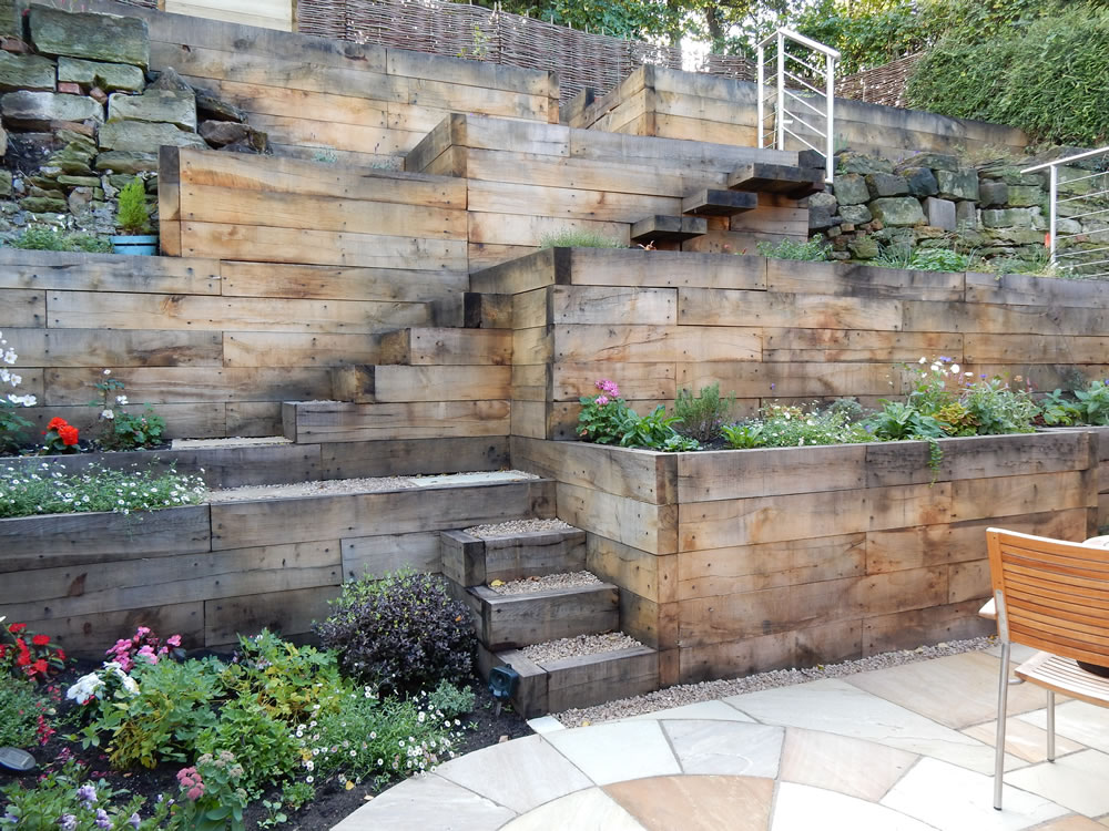 Garden Design On Steep Slopes garden design for slopes garden design and garden ideas