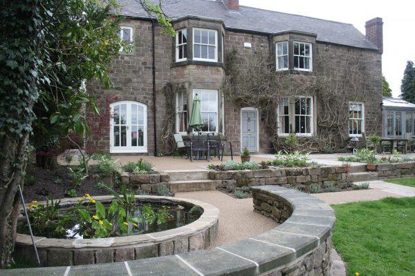 garden georgian house