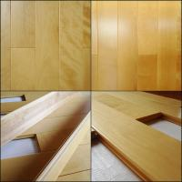 Smooth prefinished maple flooring,clear grade solid maple ...