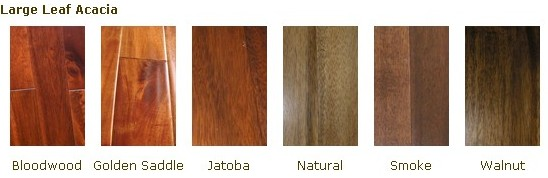 Prefinished Natural Asian walnut AcaciaSolid Hardwood
