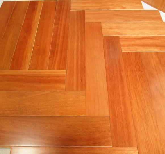 18mm parquet kempasKempas parquet flooringsolid kempas