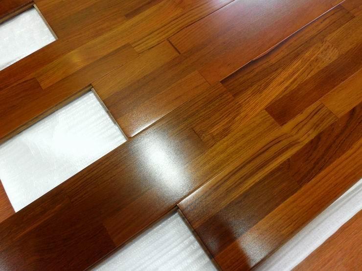 floating hardwood flooringfinger jointed teak hardwood