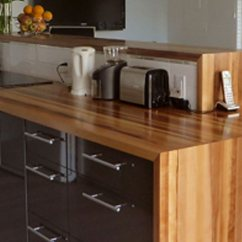 Kitchen Island Tops Sink Installation Hardwood Countertops Lafor Read More