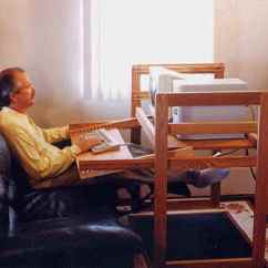 Desk Recliner Chair Arm Table Ergonomic Computer